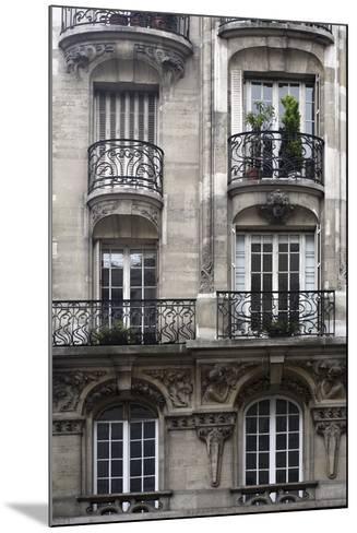 Balcon Parisien I-Tony Koukos-Mounted Giclee Print