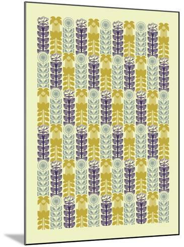 Nature Patterns IV-Nadia Taylor-Mounted Giclee Print