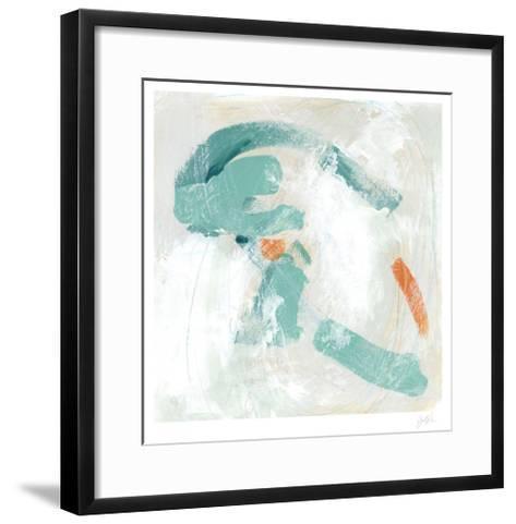 Tidal Current II-June Vess-Framed Art Print