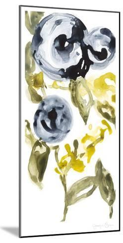 Navy Anemone I-Jennifer Goldberger-Mounted Limited Edition