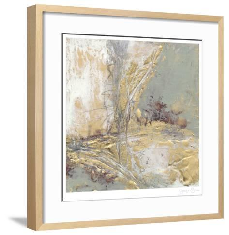 Gilded Circuit II-Jennifer Goldberger-Framed Art Print