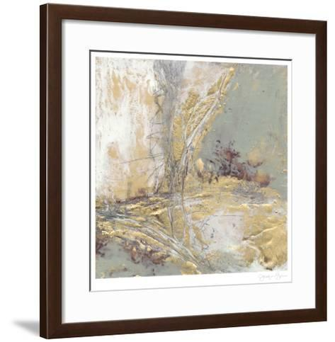 Gilded Circuit II-Jennifer Goldberger-Framed Art Print