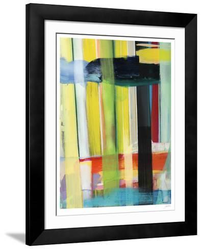Intersecting Colors I-Jodi Fuchs-Framed Art Print