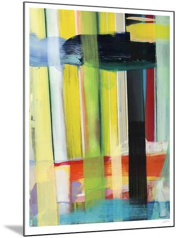 Intersecting Colors I-Jodi Fuchs-Mounted Limited Edition