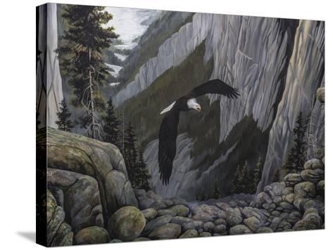 Soaring High I-B^ Lynnsy-Stretched Canvas Print