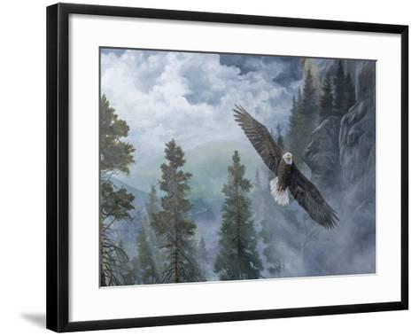 Soaring High II-B^ Lynnsy-Framed Art Print