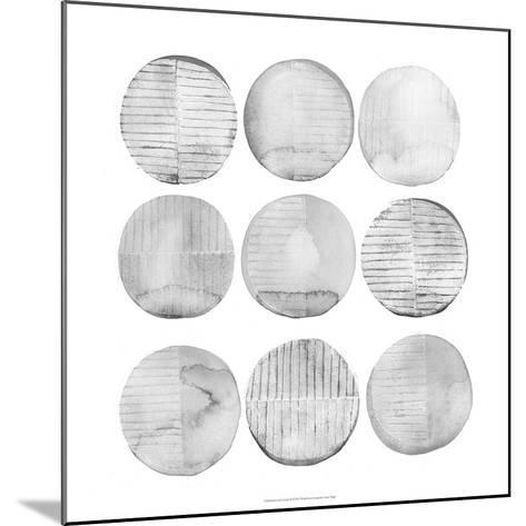 Soft Circles II-Grace Popp-Mounted Art Print