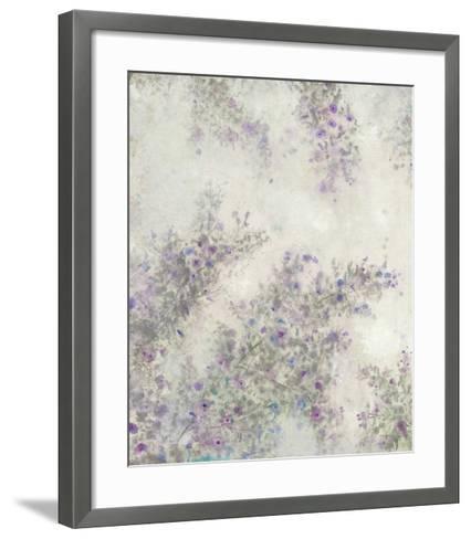 Twig Blossoms III-Tim OToole-Framed Art Print