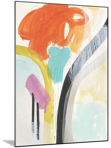 Rhythm Variations II-June Vess-Mounted Giclee Print