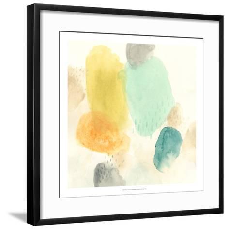 River Stones I-June Vess-Framed Art Print