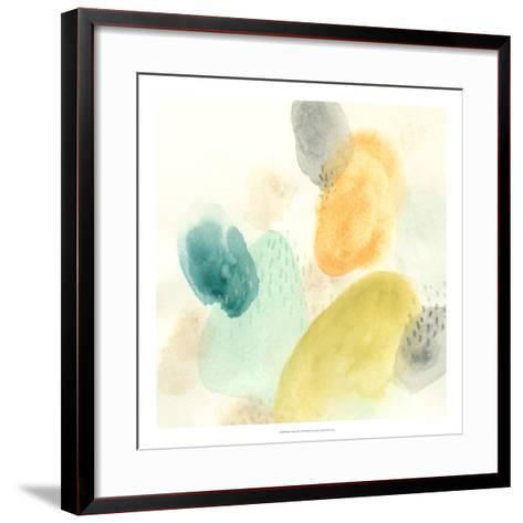 River Stones II-June Vess-Framed Art Print