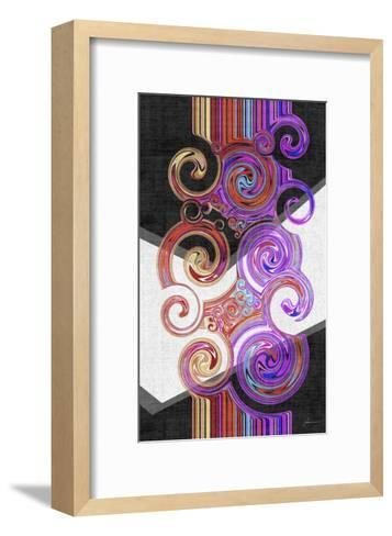 Twirl II-James Burghardt-Framed Art Print