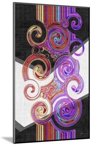 Twirl II-James Burghardt-Mounted Art Print