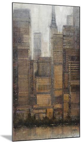 Uptown City I-Tim OToole-Mounted Art Print