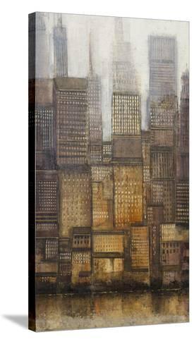 Uptown City II-Tim OToole-Stretched Canvas Print