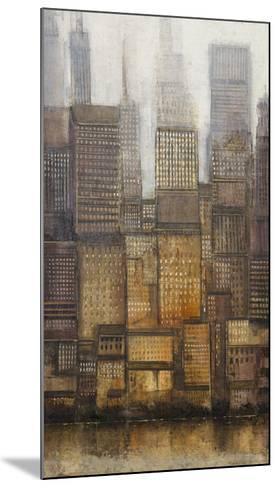Uptown City II-Tim OToole-Mounted Art Print