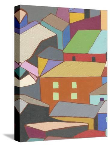 Rooftops in Color III-Nikki Galapon-Stretched Canvas Print