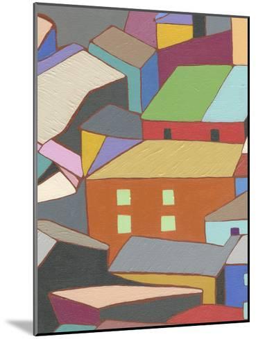 Rooftops in Color III-Nikki Galapon-Mounted Art Print