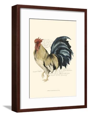 Rooster's Crow II-Grace Popp-Framed Art Print
