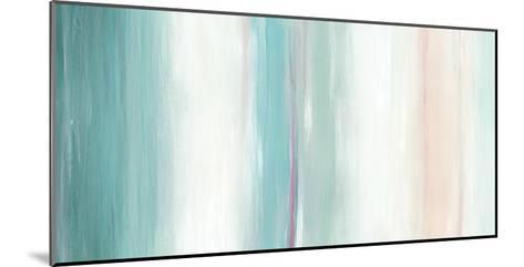 Seafoam Spectrum I-June Vess-Mounted Art Print