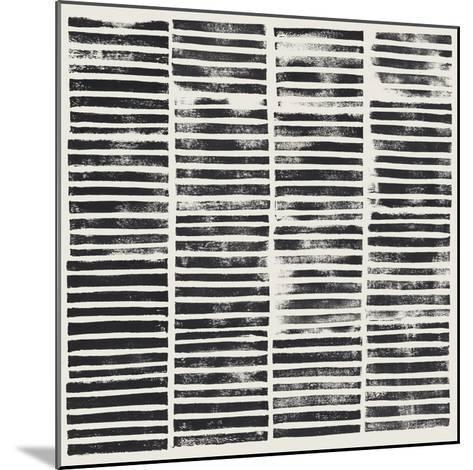 Stripe Block Prints II-Grace Popp-Mounted Art Print