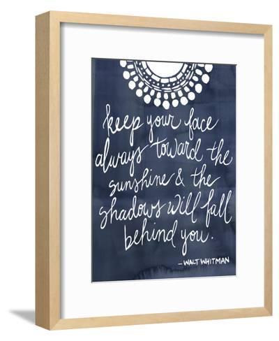 Sun Quote II-Grace Popp-Framed Art Print