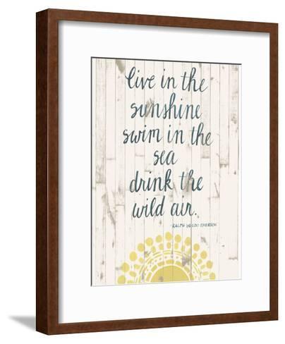 Sun Quote IV-Grace Popp-Framed Art Print
