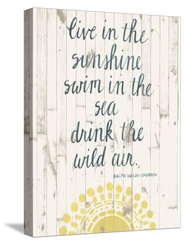 Sun Quote IV-Grace Popp-Stretched Canvas Print