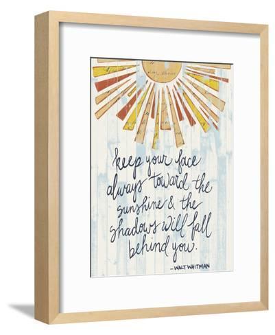 Sunny Day Words II-Grace Popp-Framed Art Print