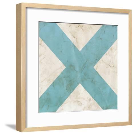 Seaside Signals III-June Vess-Framed Art Print