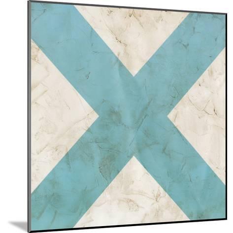 Seaside Signals III-June Vess-Mounted Giclee Print