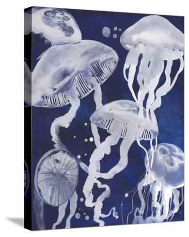 Swarm II-Grace Popp-Stretched Canvas Print