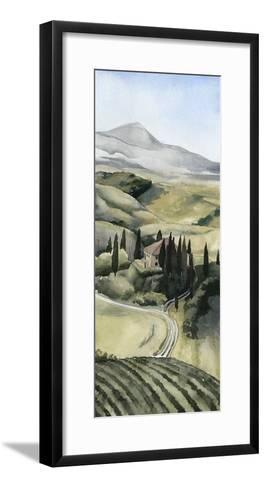 Watercolor Tuscany I-Grace Popp-Framed Art Print