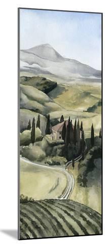 Watercolor Tuscany I-Grace Popp-Mounted Art Print