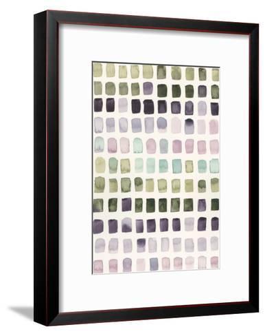 Serene Color Swatches I-Grace Popp-Framed Art Print