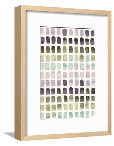 Serene Color Swatches II-Grace Popp-Framed Art Print