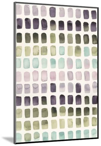 Serene Color Swatches II-Grace Popp-Mounted Art Print