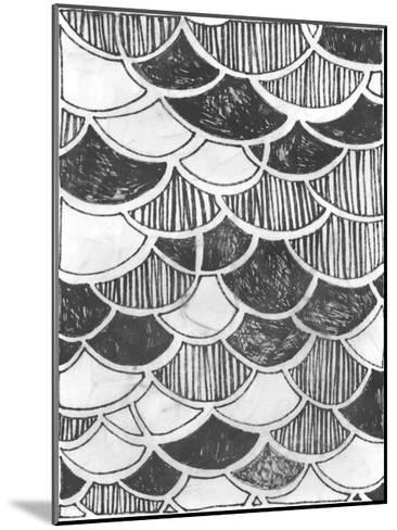 Symbol Imprint III-June Vess-Mounted Art Print