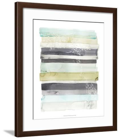 Wavelet I-Grace Popp-Framed Art Print
