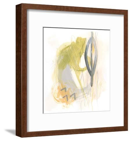 Side Swipe III-June Vess-Framed Art Print