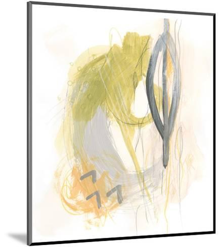 Side Swipe III-June Vess-Mounted Art Print
