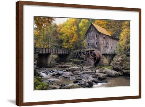 The Mill & Creek I-Danny Head-Framed Art Print