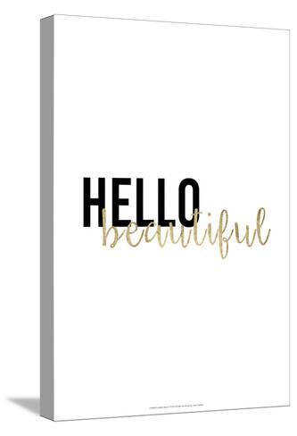 Golden Quote I-Anna Hambly-Stretched Canvas Print