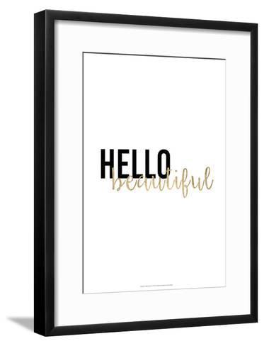 Golden Quote I-Anna Hambly-Framed Art Print