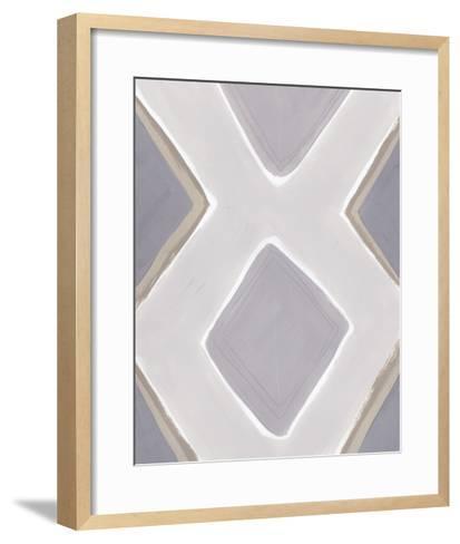 Neutral Impact III-June Vess-Framed Art Print