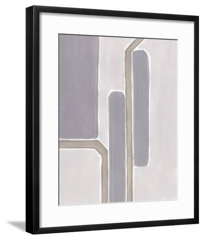 Neutral Impact IV-June Vess-Framed Art Print