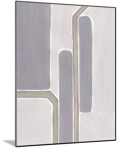 Neutral Impact IV-June Vess-Mounted Art Print