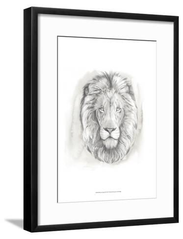 Big Cat Study III-Grace Popp-Framed Art Print