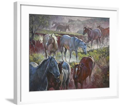 Greener Pastures-Jack Sorenson-Framed Art Print
