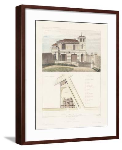 Habitations Modernes III-A^ Morel-Framed Art Print